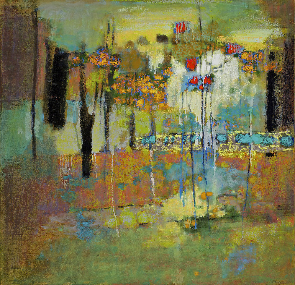 Fusion of Elements   | oil on canvas | 36 x 36"
