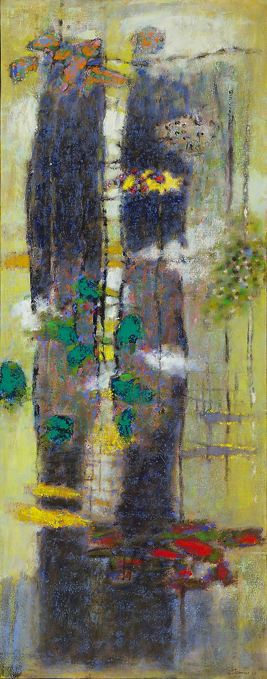 Haiku | oil on canvas | 48 x 19"