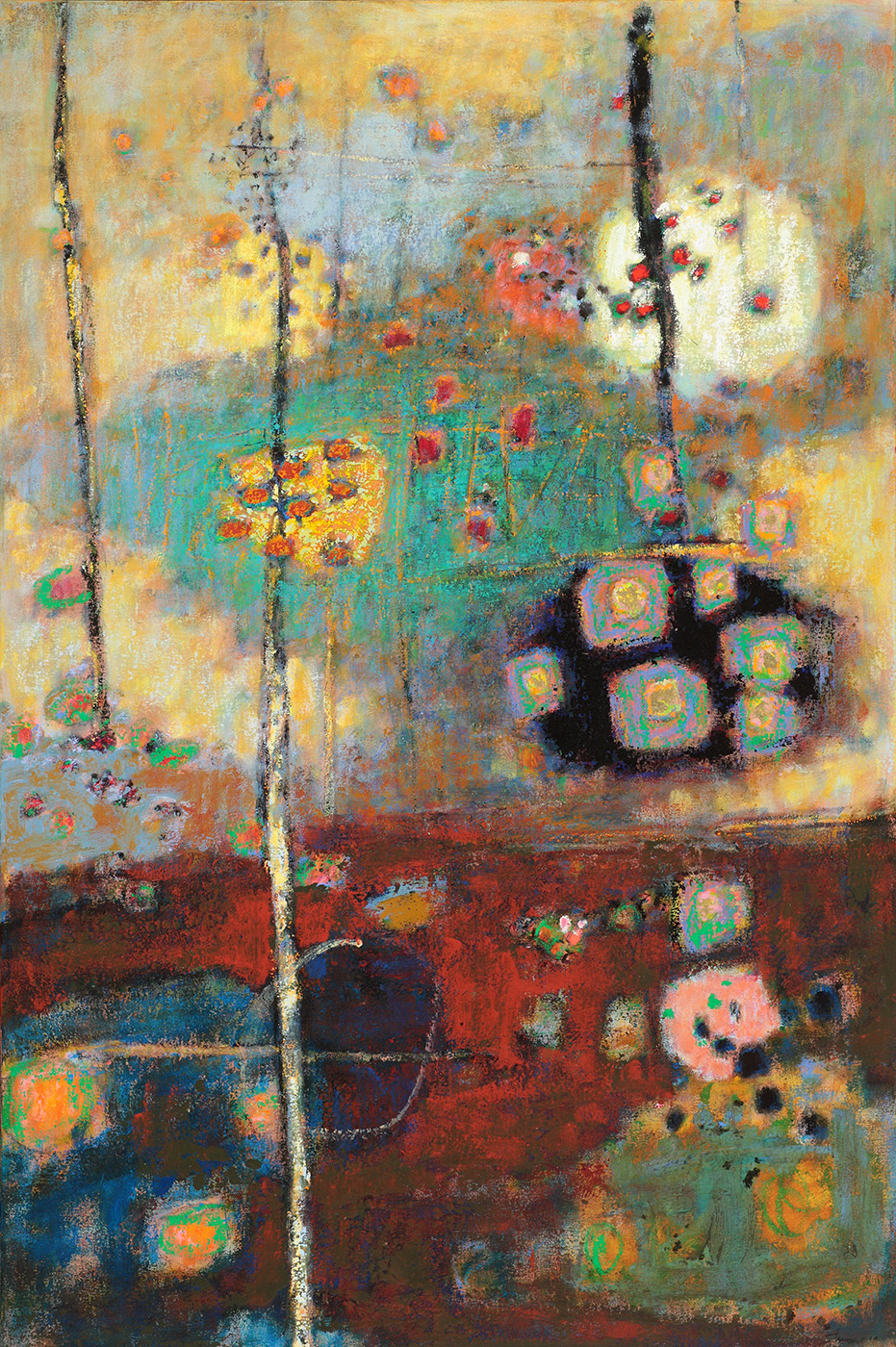 Rising From the Depths | oil on canvas | 48 x 32"