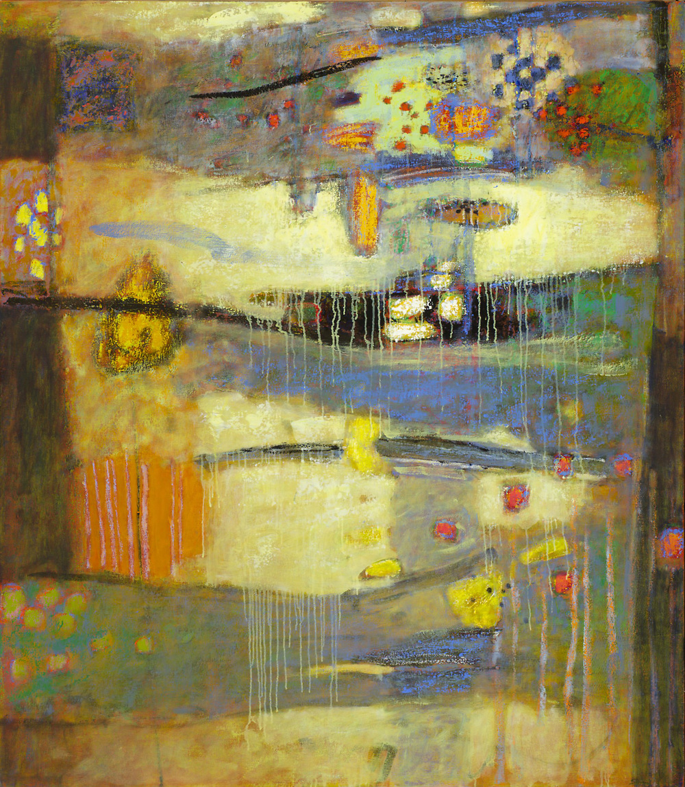 Abundance | oil on canvas | 55 x 48"