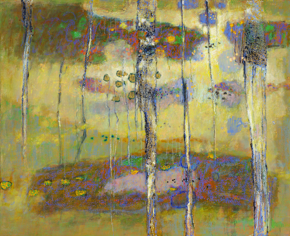 Call of the Hermit Thrush   | oil on canvas | 36 x 40"