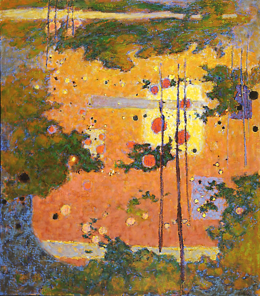 Tales of Enchantment   | oil on canvas | 54 x 47"