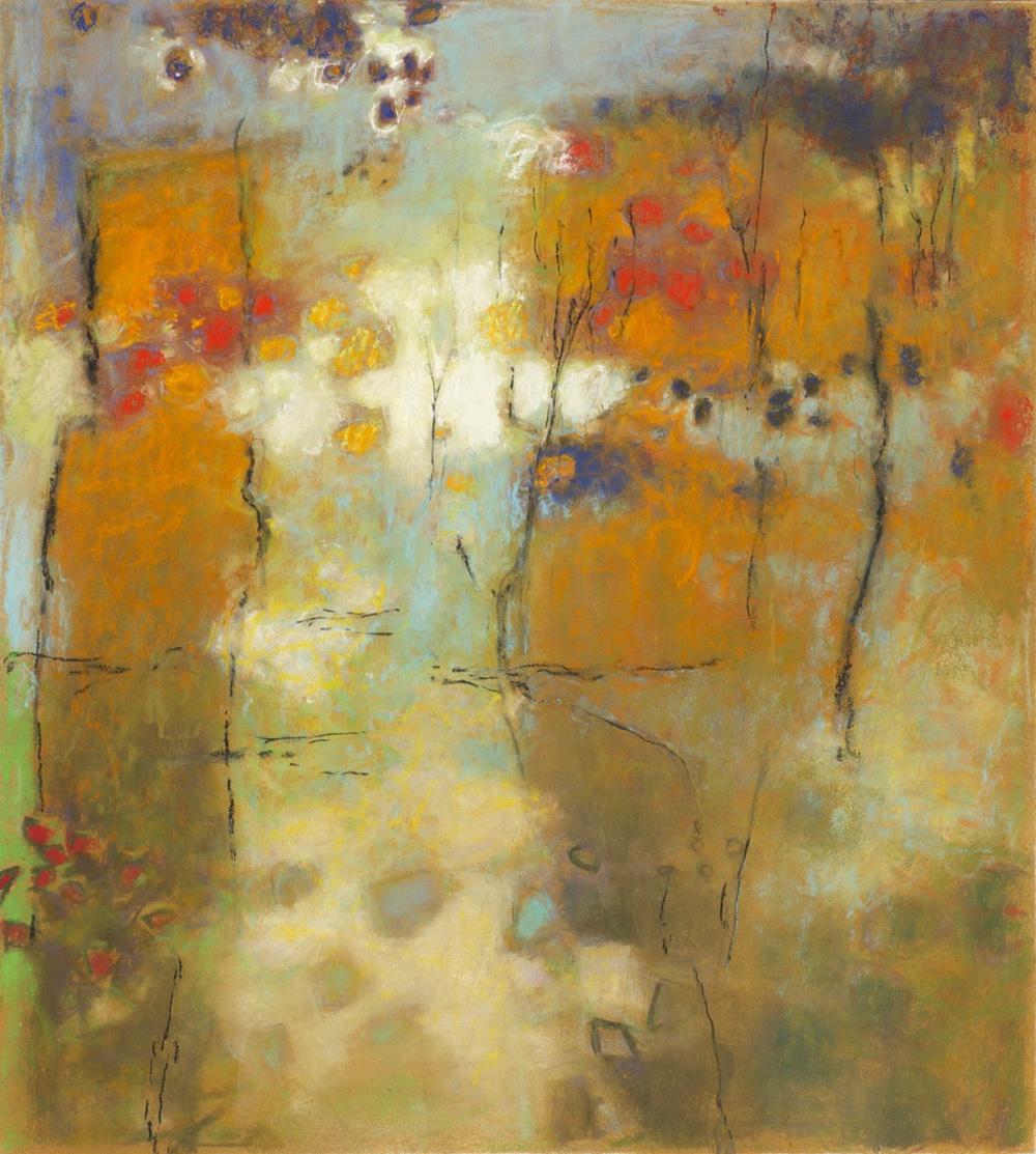 "37-14 | pastel on paper | 20 x 18"" | 2014"