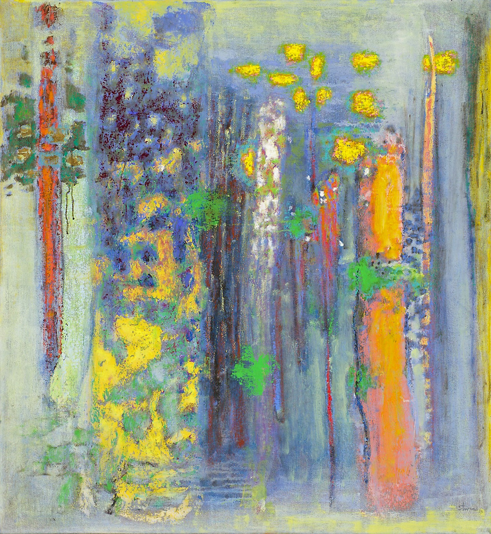 The Seasons Unfold | oil on canvas | 39 x 36"