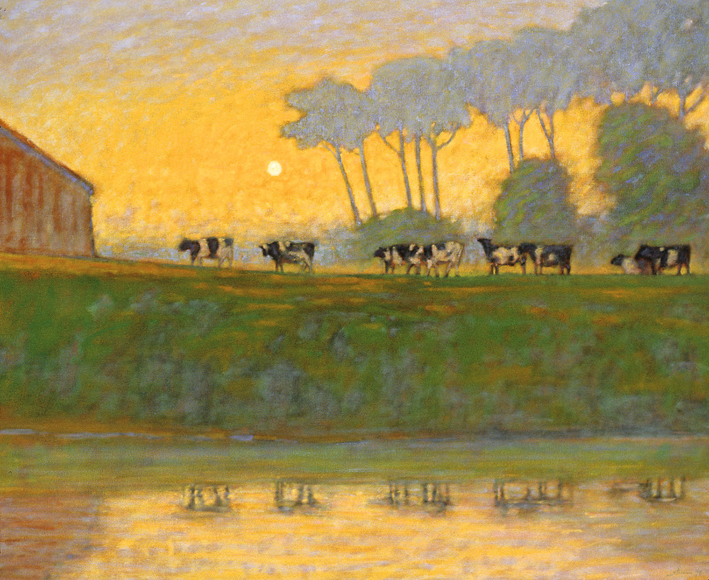 Day's End   | oil on canvas | 39 x 48"