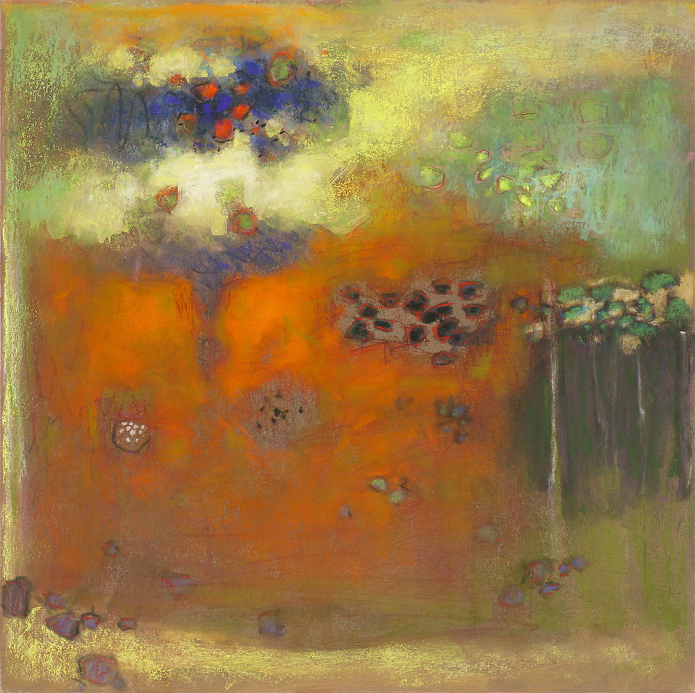 "48-14 | pastel on paper | 14 x 14"" | 2014"