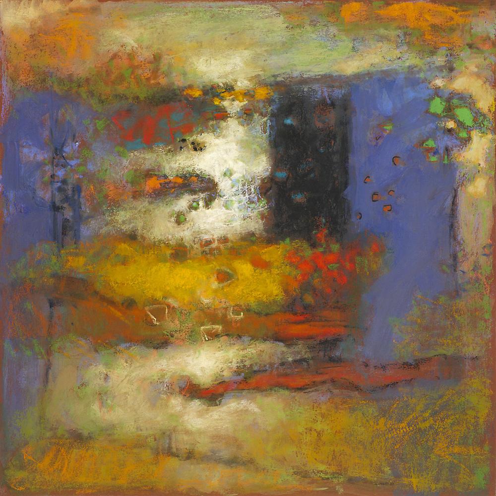 "49-14   | pastel on paper | 14 x 14"" | 2014"