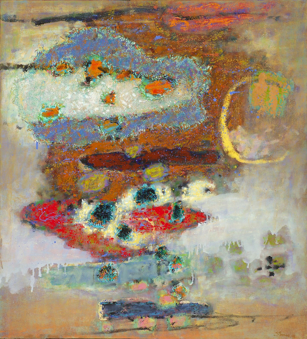 Fluid Construct   | oil on canvas | 40 x 36"