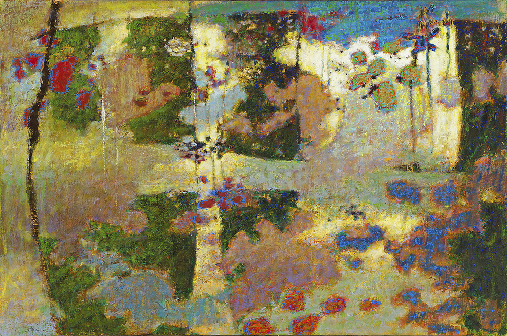 Dance With the Wind | oil on canvas | 30 x 50"