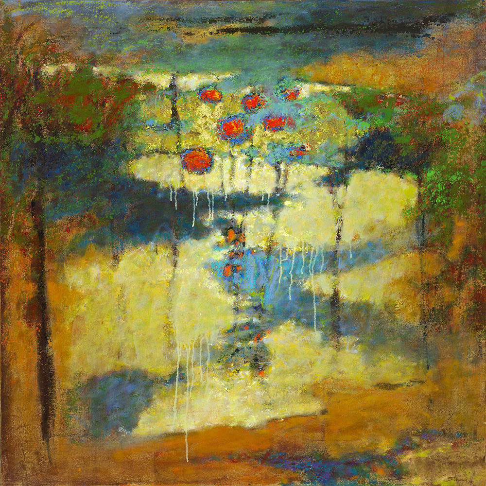 A Place to Wander   | oil on canvas | 36 x 36"