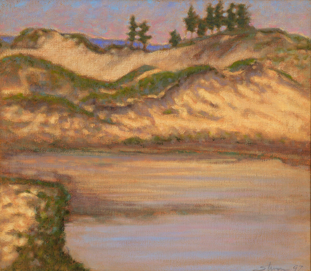 Indiana Dunes   | oil on canvas | 12 x 14"