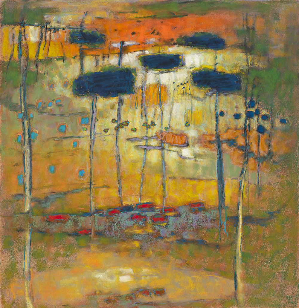 Small Universe   | pastel on paper | 31 x 30"