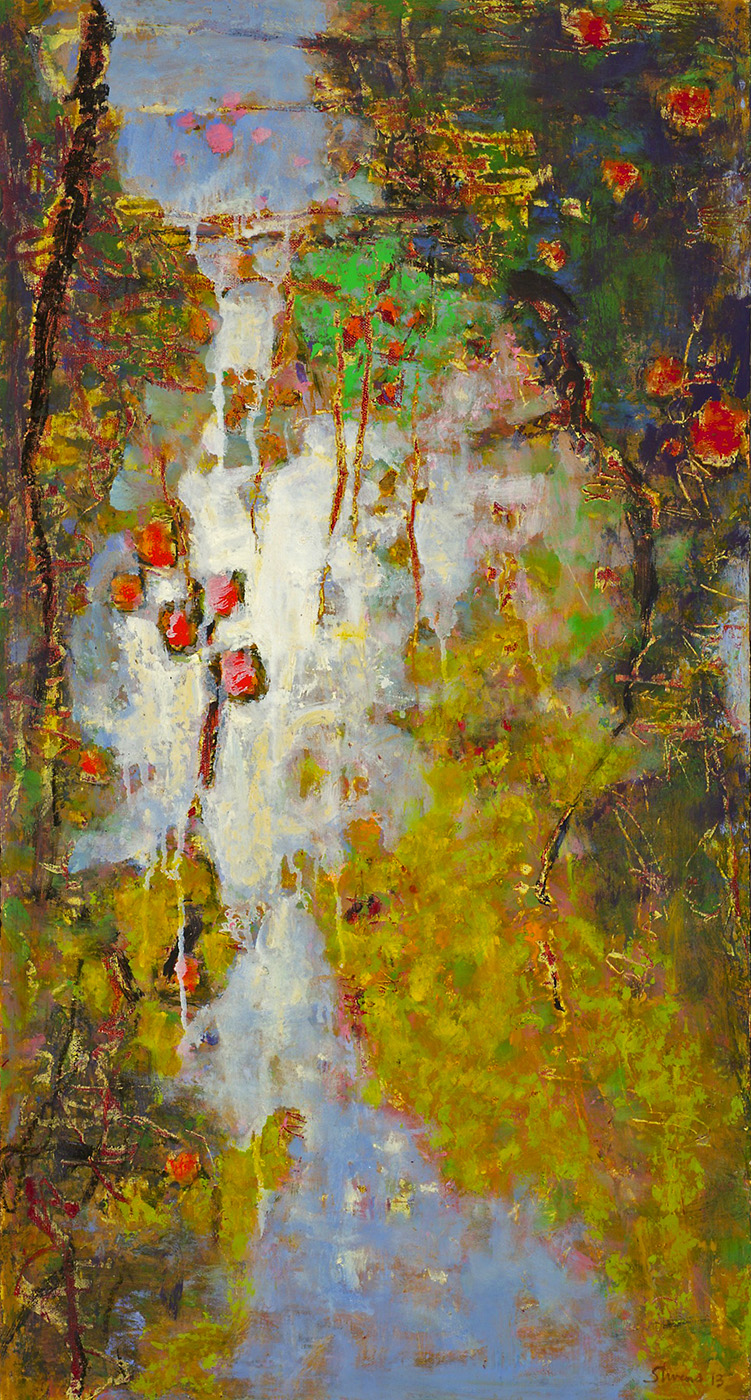Dream With Me   | oil on panel | 28 x 15"