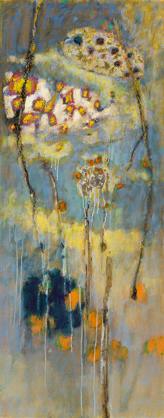 Unspoken   | oil on canvas | 48 x 19"
