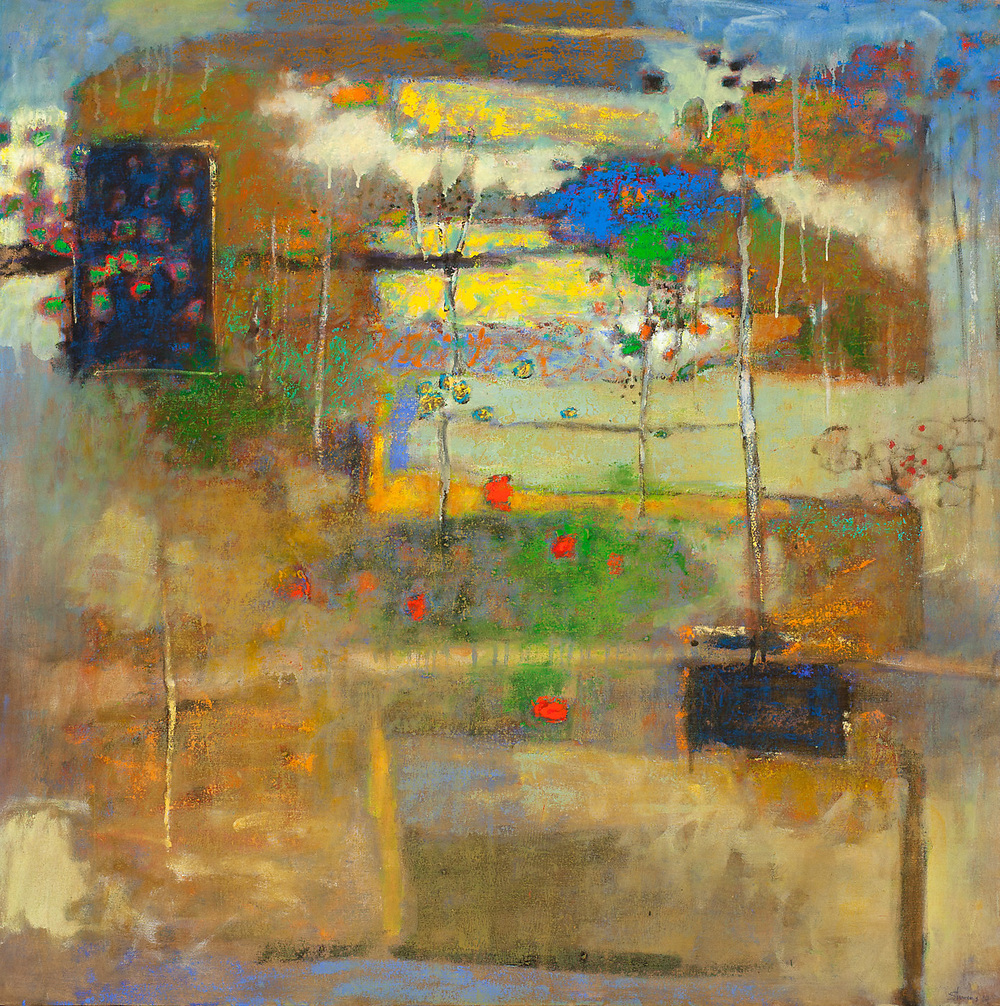 From Somewhere Else   | oil on canvas | 48 x 48"