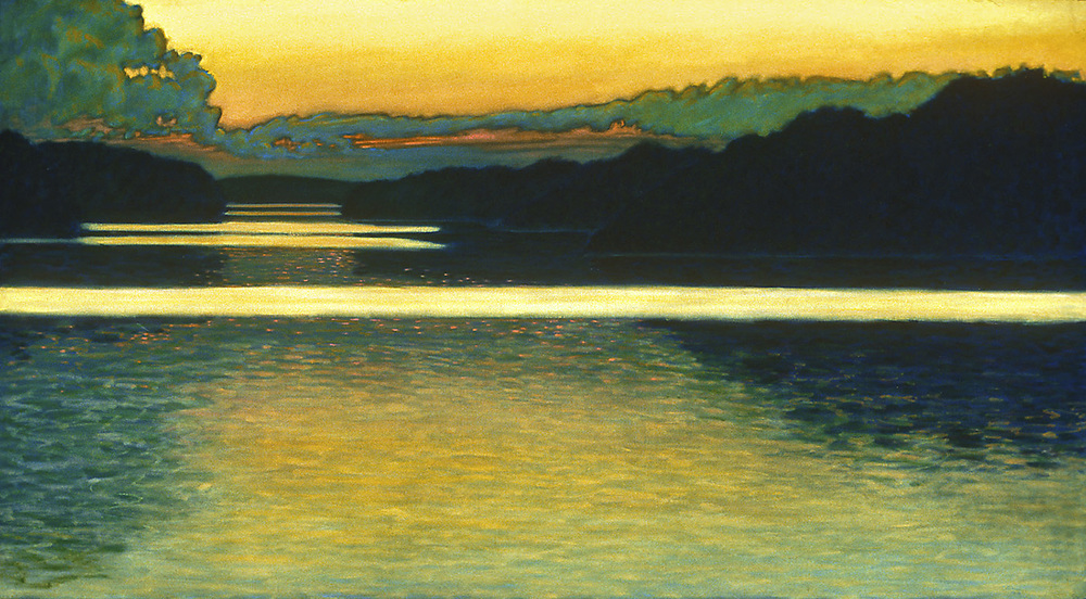 Autumn Sunset | oil on canvas | 36 x 66"
