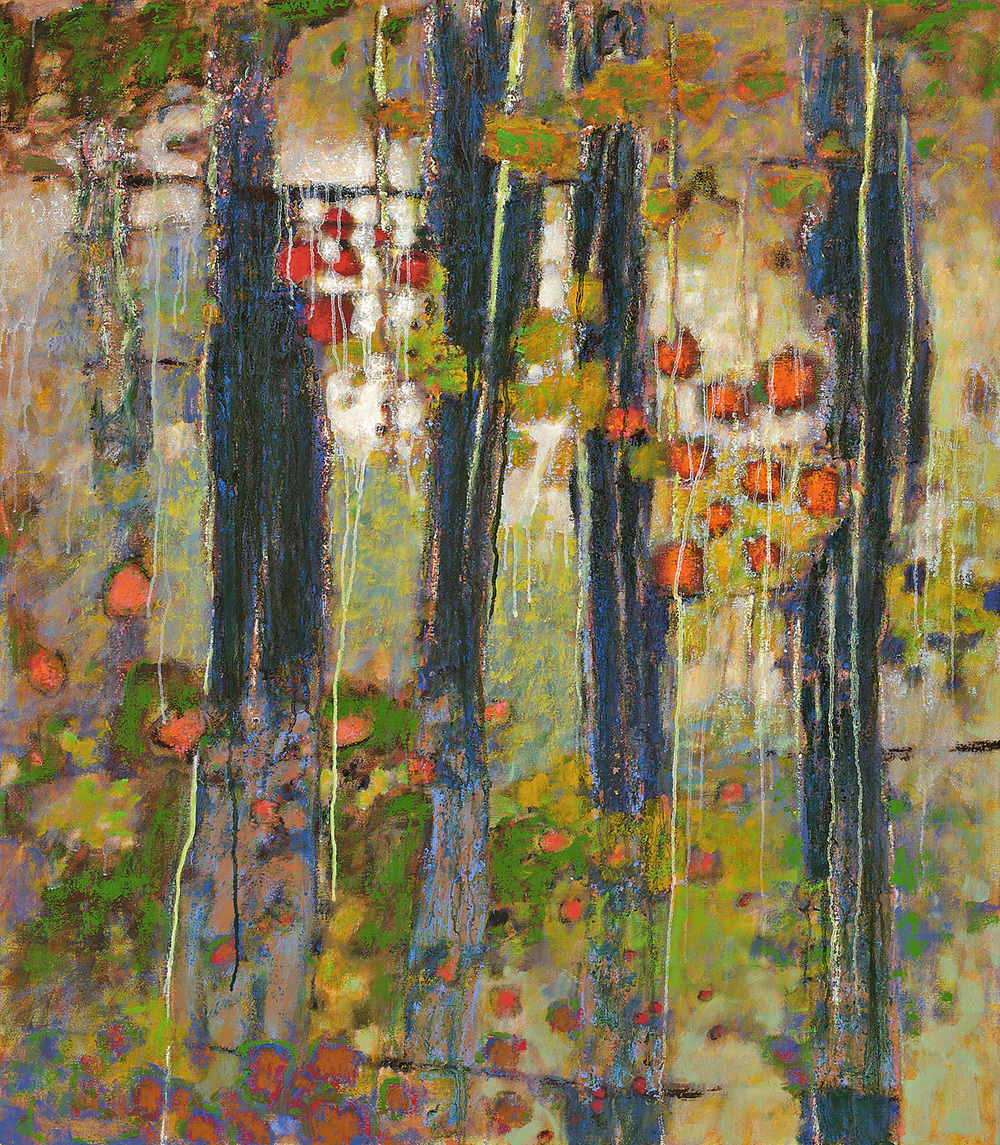 Between Connections   | oil on canvas | 48 x 42"