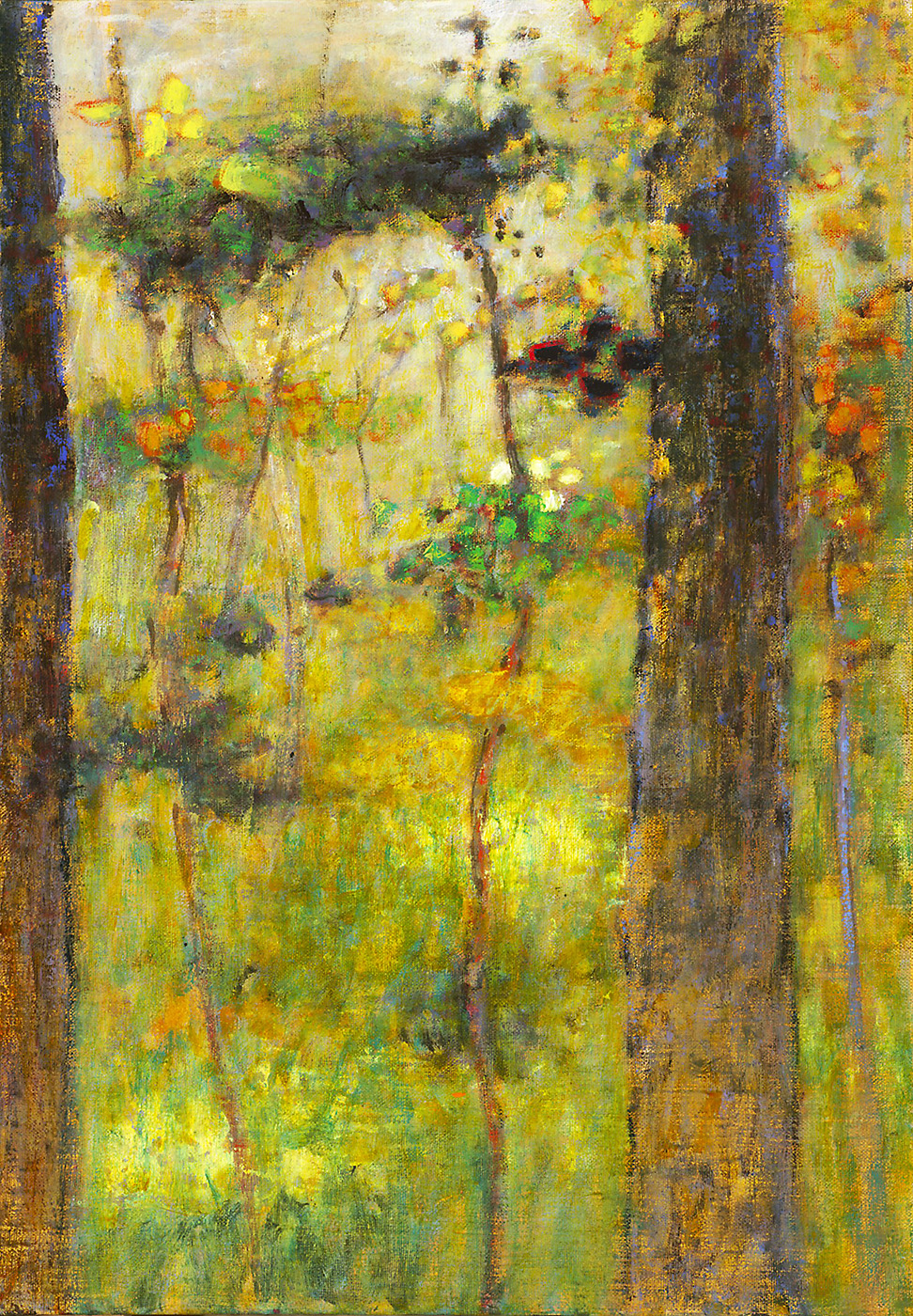 "Act Of Light   | oil on linen | 20 x 14"" | 2014"
