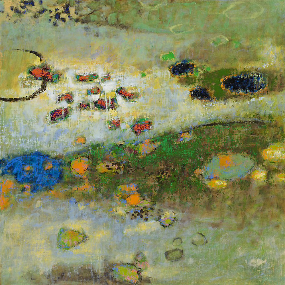 In This Small Spot | oil on linen | 34 x 34"