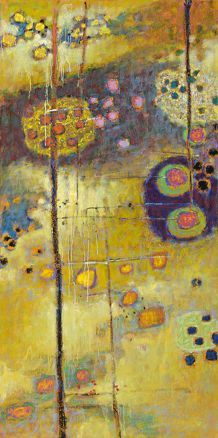 Greoundlessness   | oil on canvas | 72 X 36"
