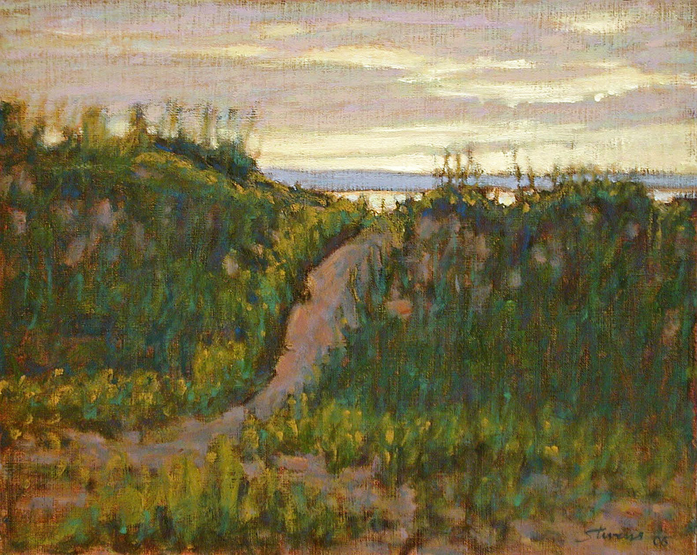 Dune Path   | oil on linen | 12 x 15"