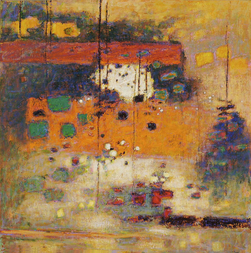 Filtered Light | oil on canvas | 48 x 48"