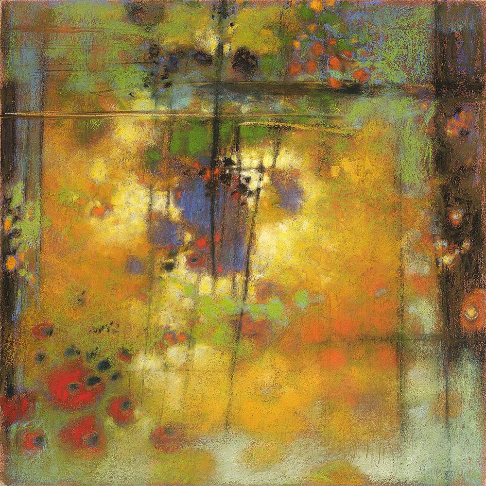 "54-10   | pastel on paper | 14 x 14"" | 2010"