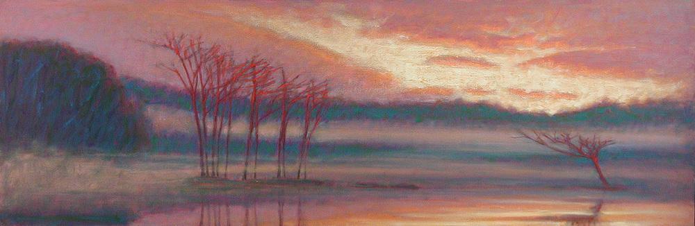 "39-06 | pastel on paper | 20 x 60"" | 2006"