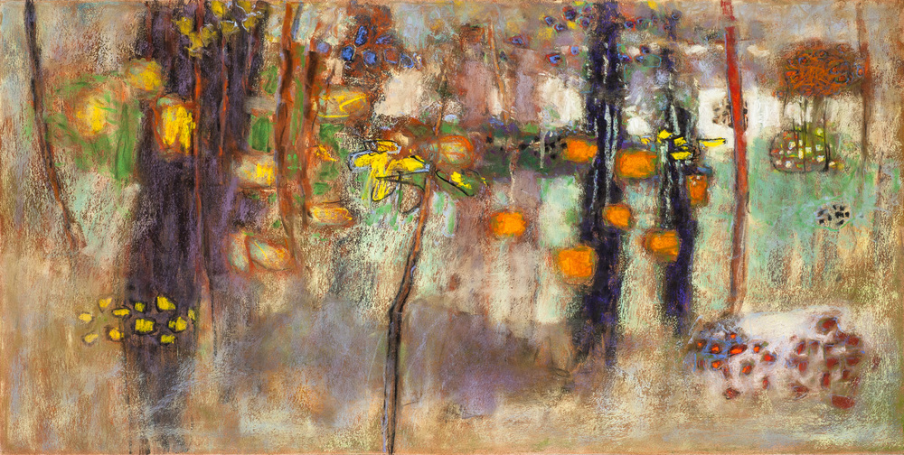 Wrapped In a Dream   | pastel on paper | 20 x 40"