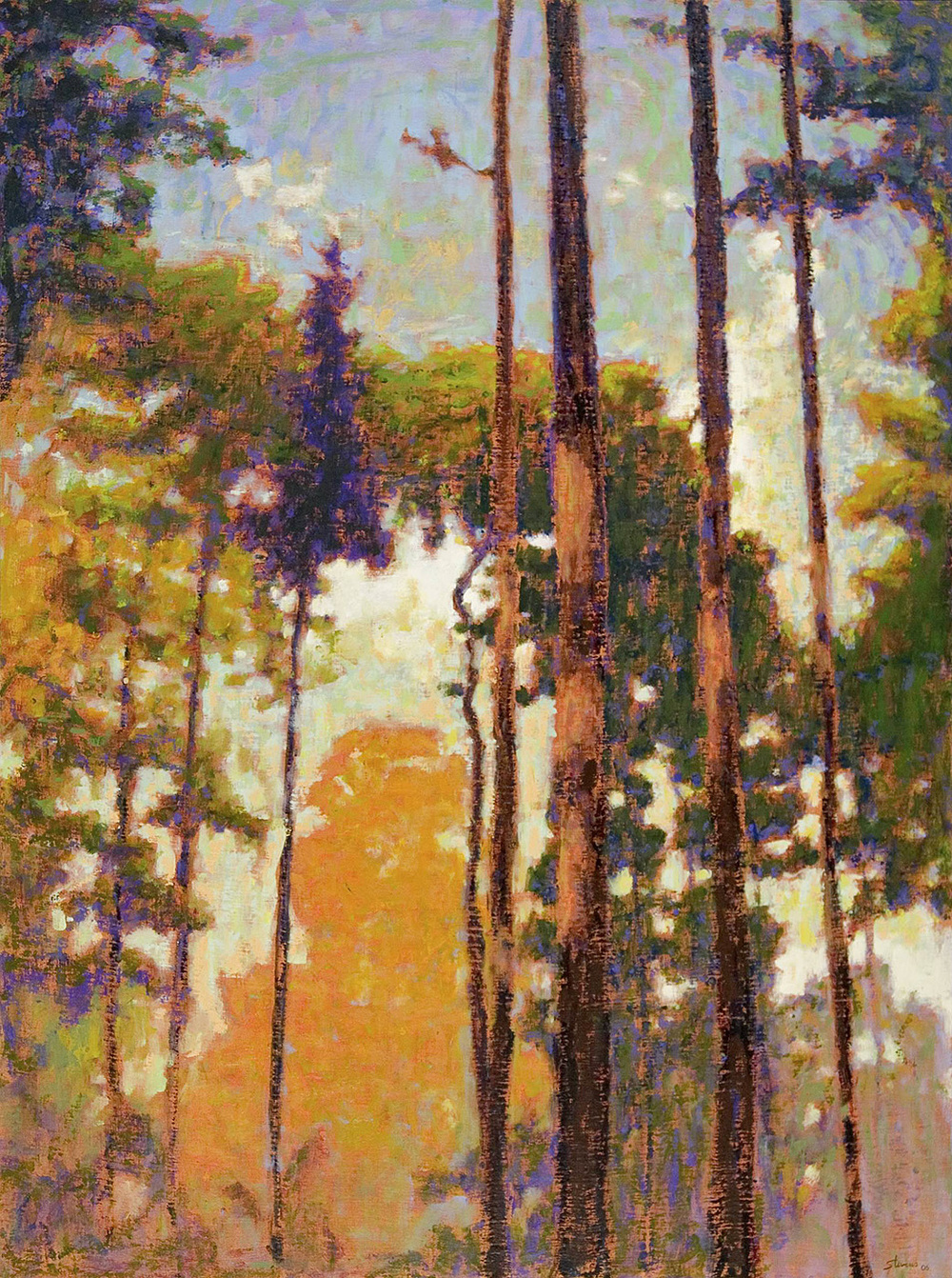 Tall Pines II   | oil on canvas | 48 x 36"