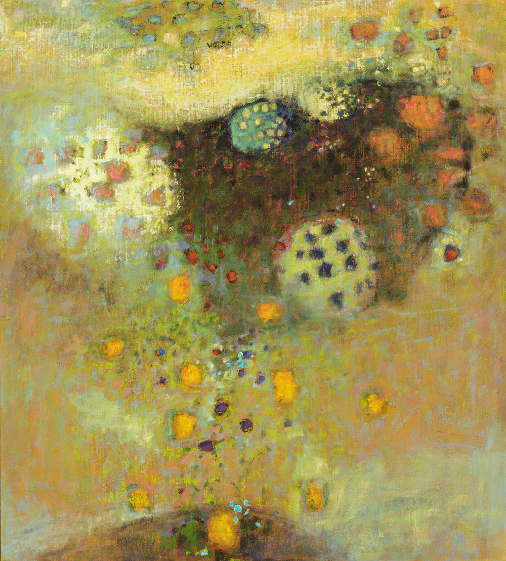 From the Matrix | oil on canvas | 40 x 36"