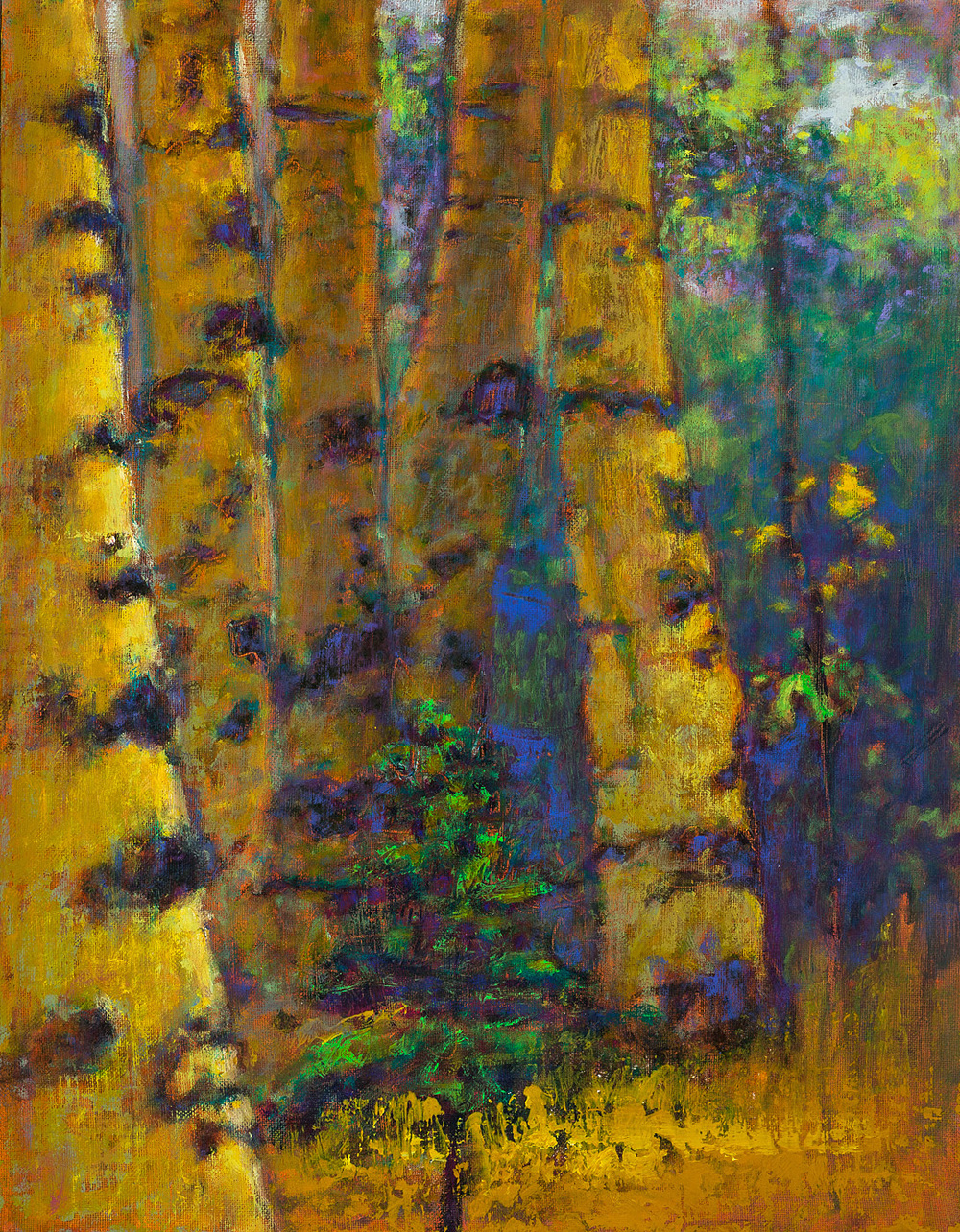 Procession | oil on linen | 18 x 14"
