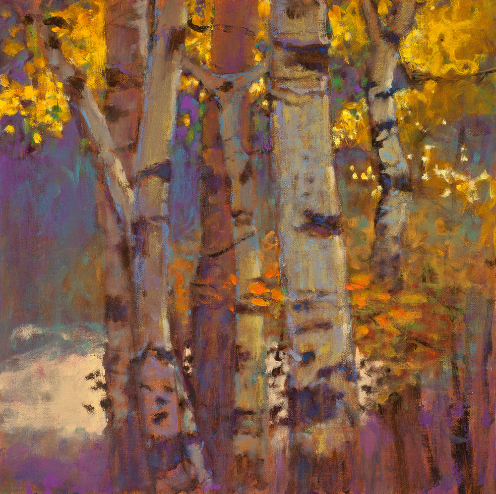 Octaves of Light   | oil on linen | 14 x 14"