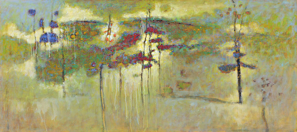 Coming Into View   | oil on canvas | 36 x 80"