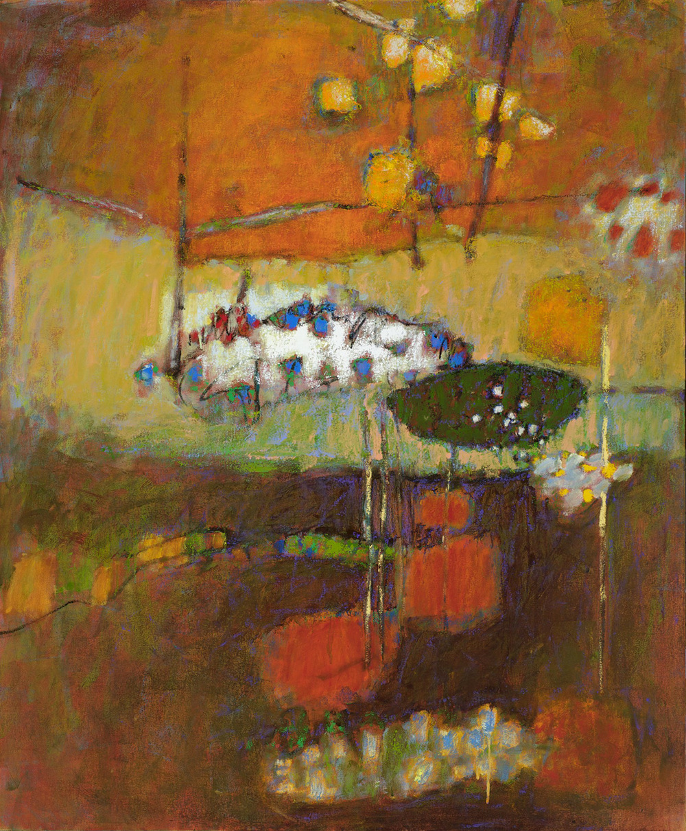Being There   | oil on canvas | 58 x 48"
