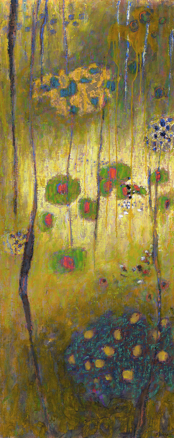Ineffable Mysteries | oil on canvas | 48 x 19"