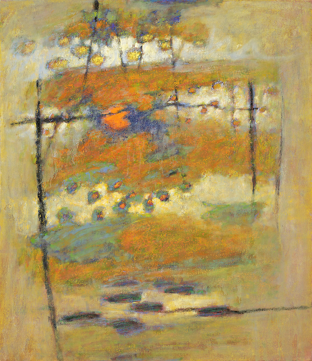 Symbolic Interplay   | oil on canvas | 48 x 42"
