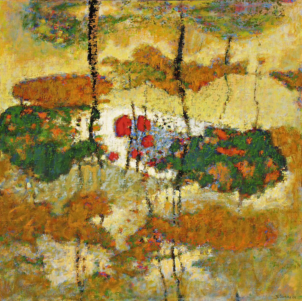 Spoken Like a Melody | oil on canvas | 30 x 30"