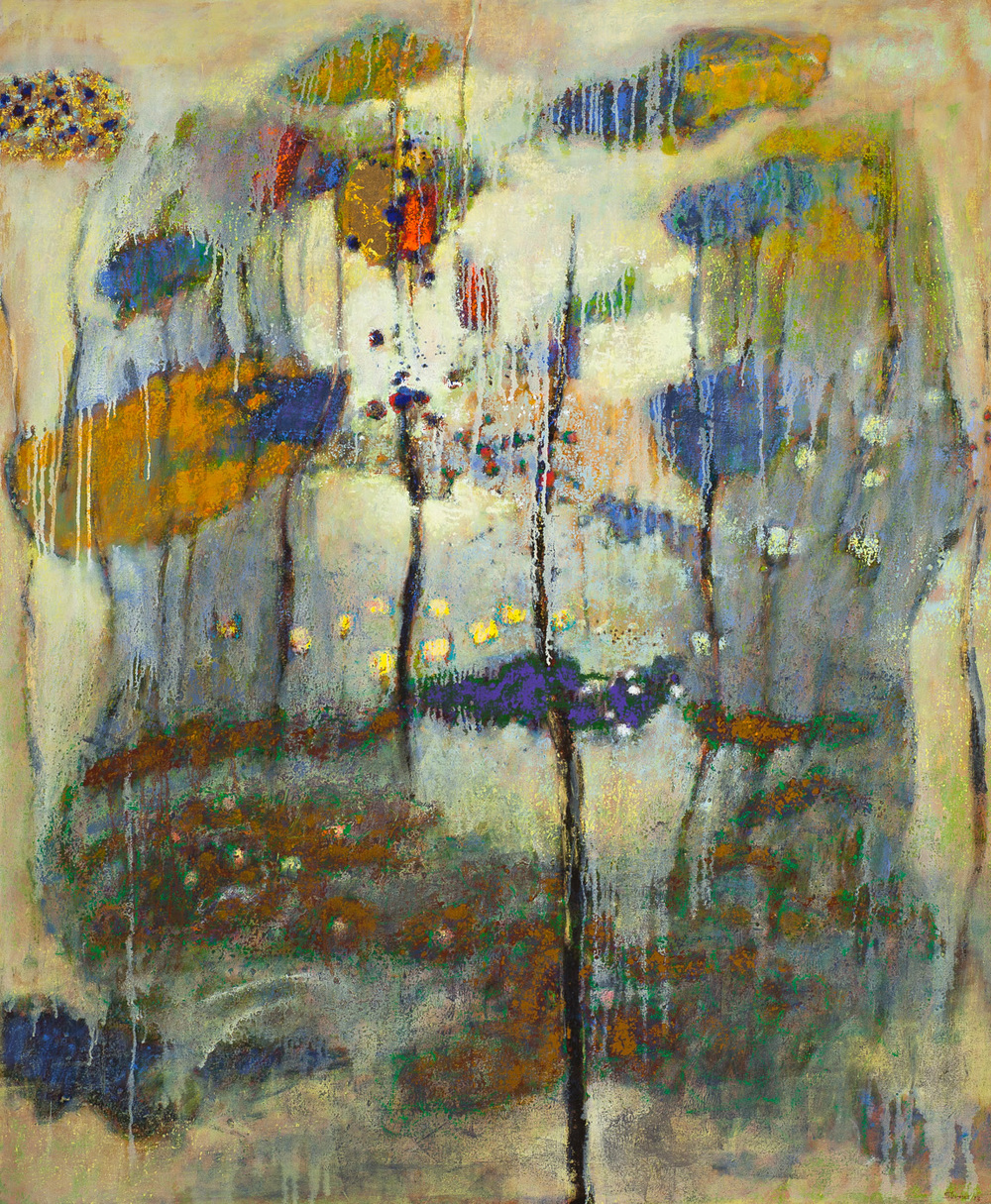 Vanishing Into Stillness   | oil on canvas | 58 x 48"