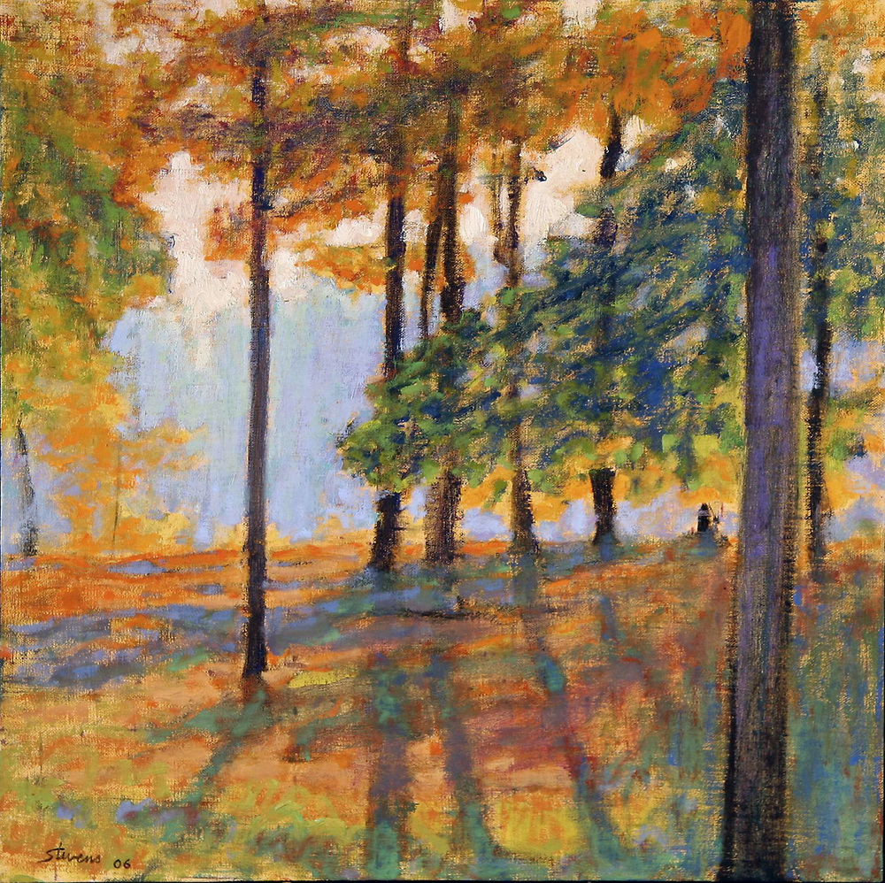 Long Lake   | oil on linen | 18 x 18"