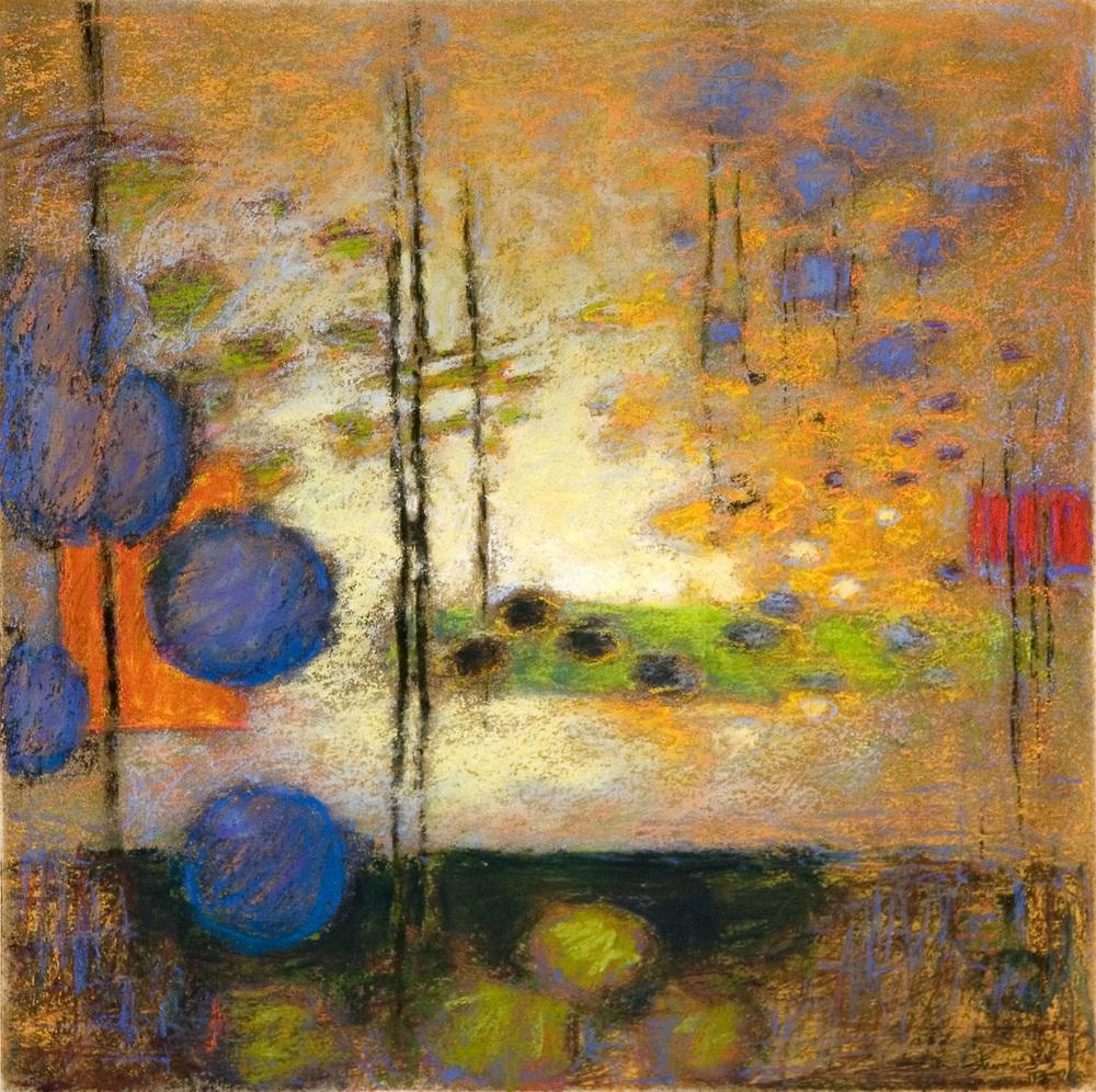 "113-06 | pastel on paper | 14 x 14"" | 2006"