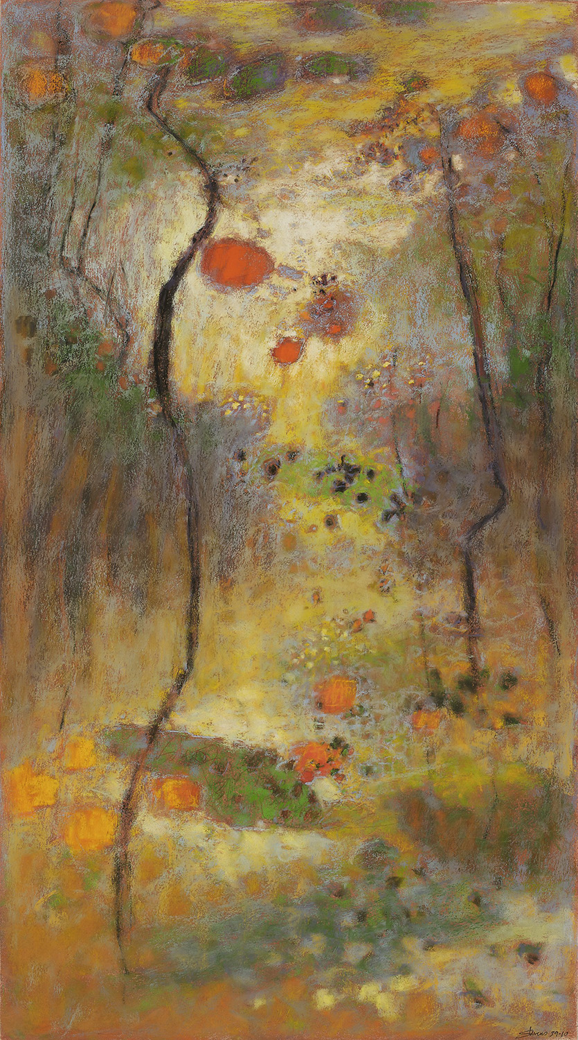 The Spell | pastel on paper | 36 x 20"