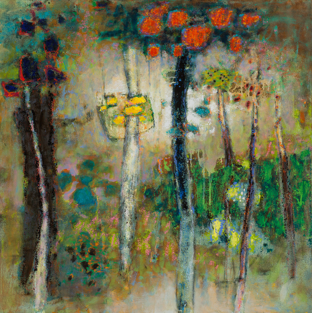 Lucid Wilderness | oil on canvas | 32 x 32"