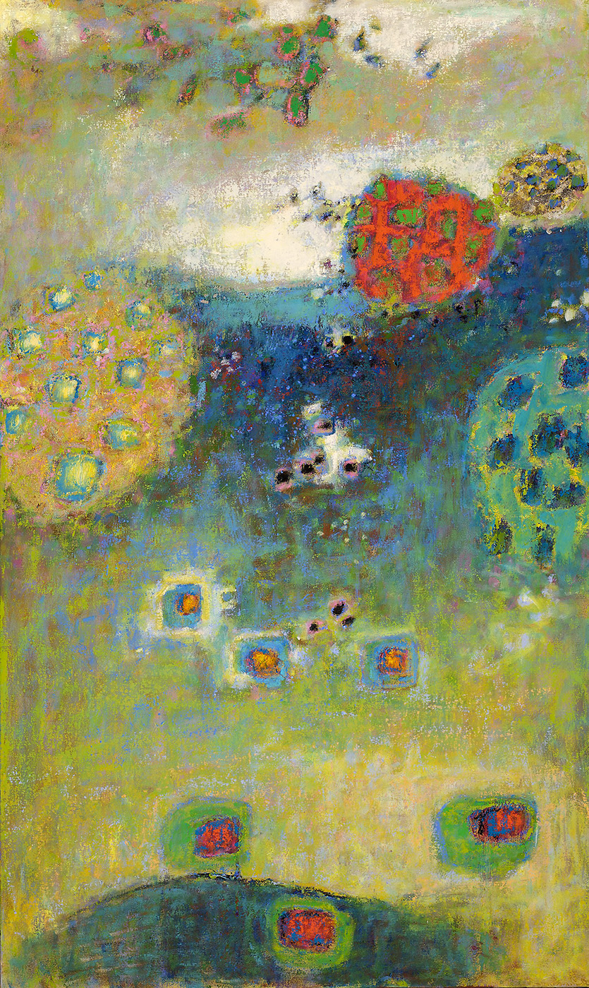 Particle Reversal   | oil on canvas | 50 x 30"
