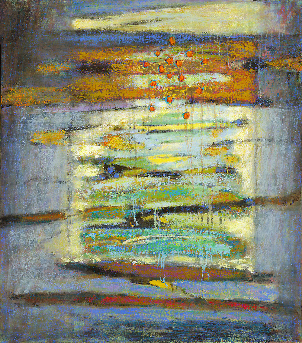 Structural Frequencies   | oil on canvas | 41 x 36"