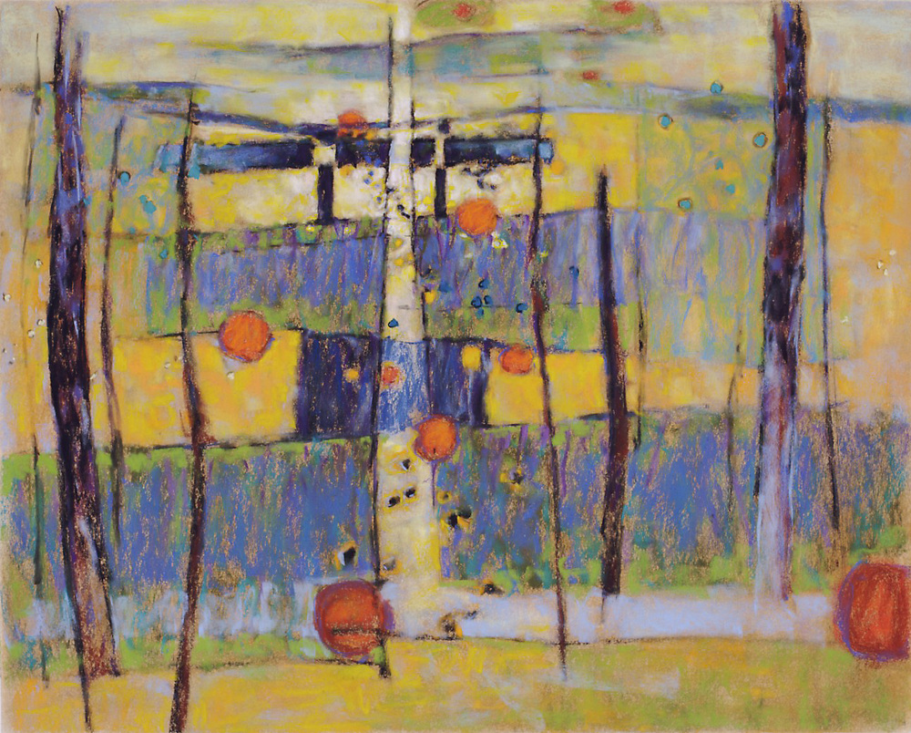 "True | pastel on paper | 24 x 30"" | 2008"