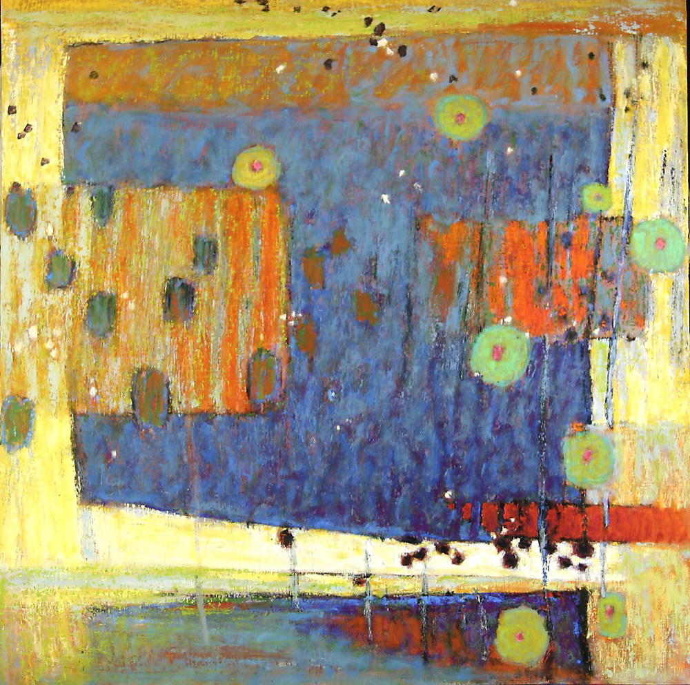 Evolving Structure | oil on canvas | 48 x 48"