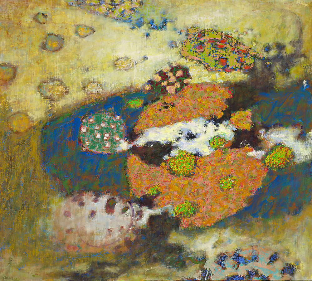 No Reference Point   | oil on canvas | 36 x 40"