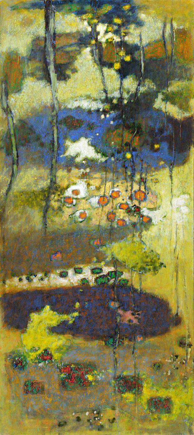 "Stream of Dreams   | oil on canvas | 80 x 36"" | 2011"