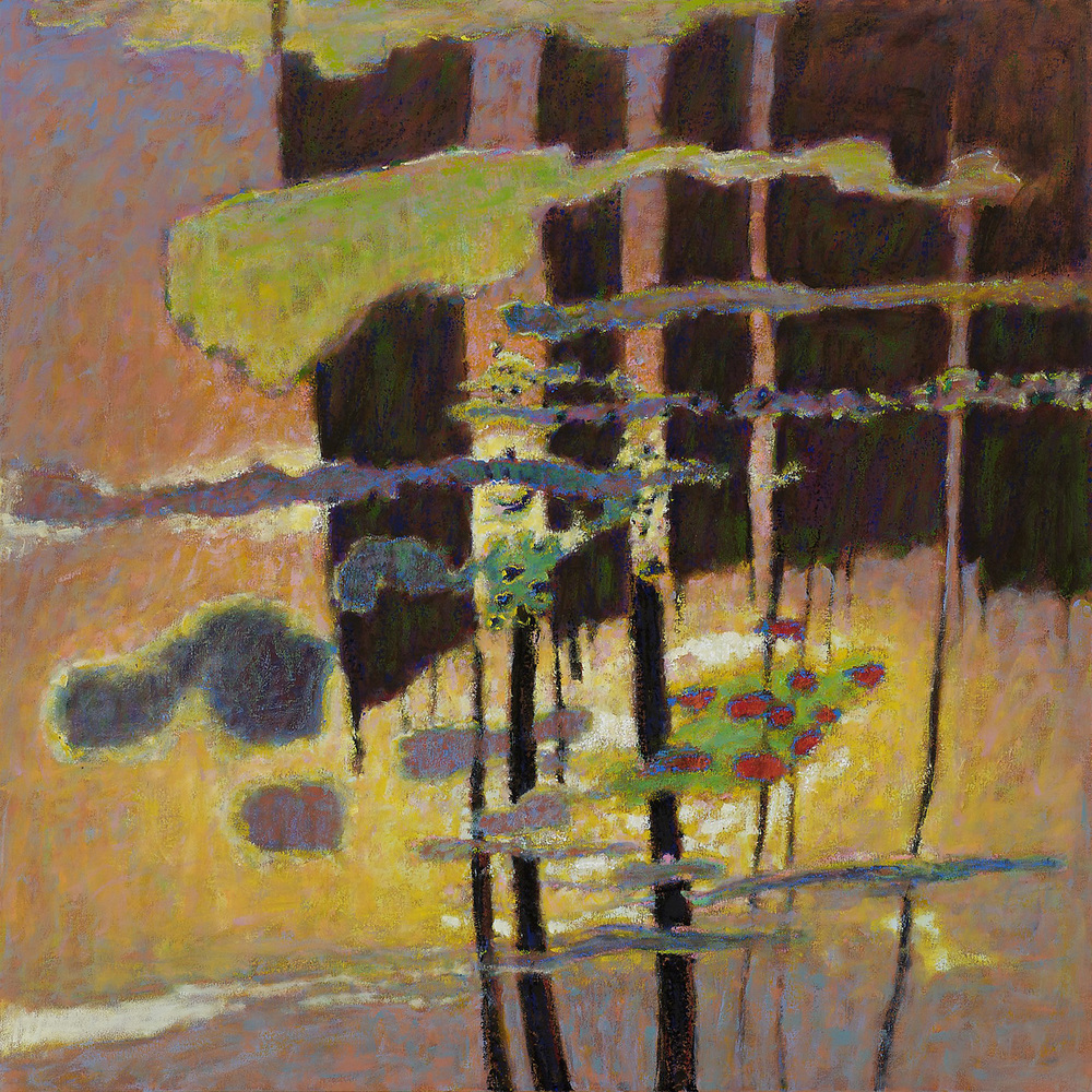 Evening Falls   | oil on canvas | 48 x 48"